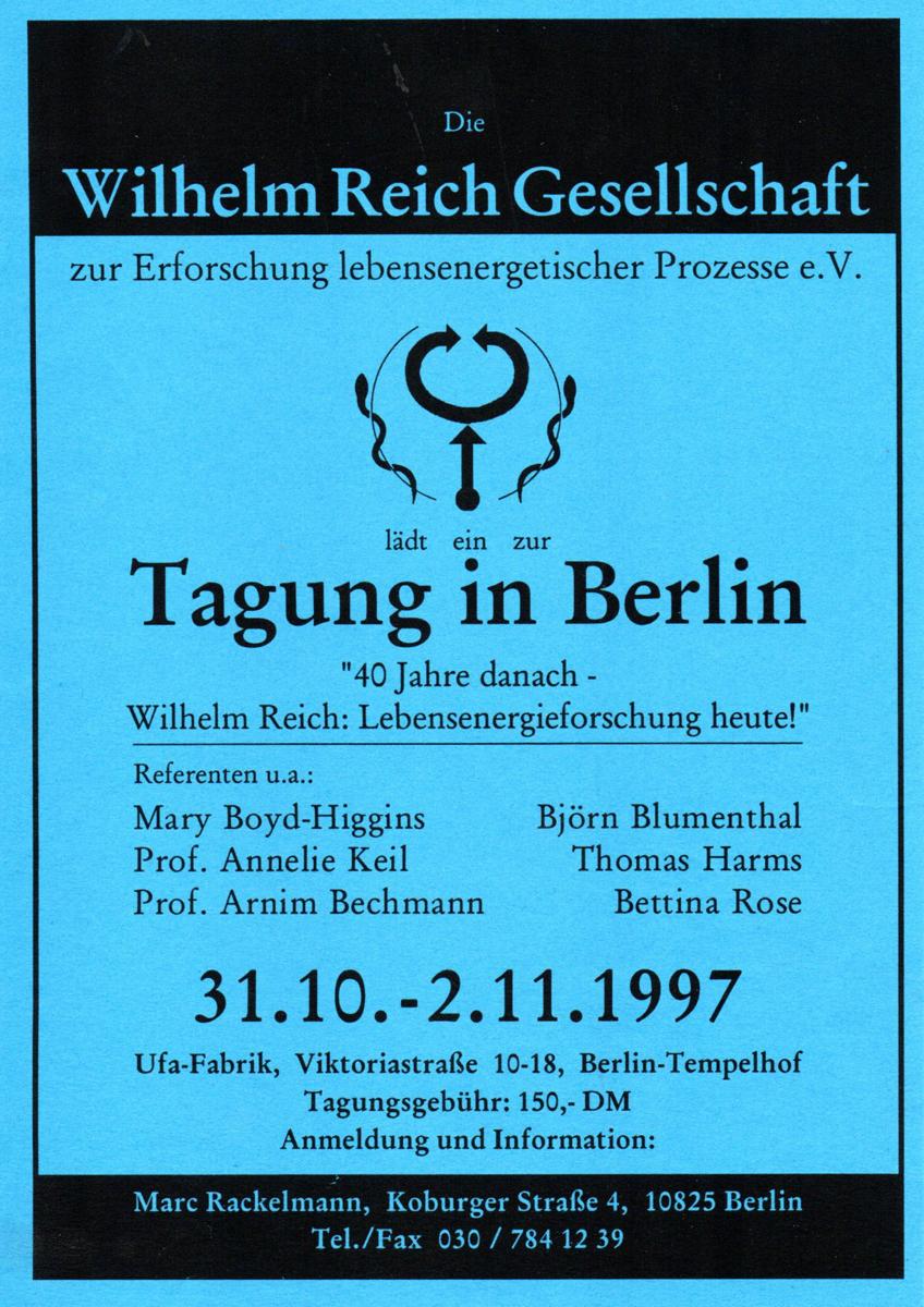 1997 Okt_Nov WRG-Tagung- Flyer